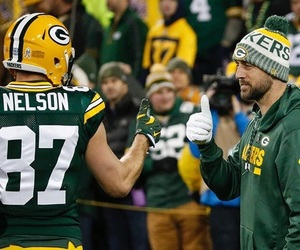 football, goals, and aaron rodgers image