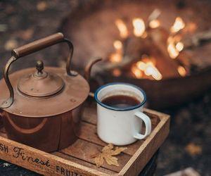 coffee, autumn, and tea image