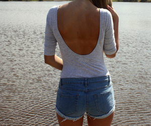 back, blue, and body image