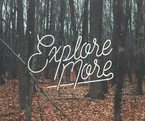 adventure, design, and typography image