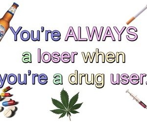 alcohol, cigarettes, and drugs image