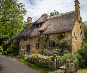 cotswolds, cottage, and cozy image