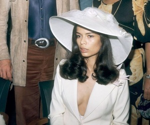 70s, bianca jagger, and fashion image