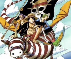 one piece, strawhat, and sogeking image