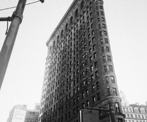 flatiron building, manhattan, and new york image