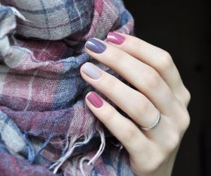 autumn, nails, and colors image