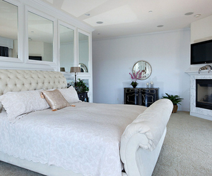 bedrooms, diy, and white image
