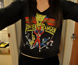girl, power rangers, and photography image