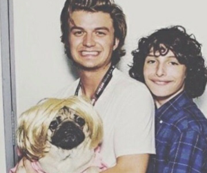 stranger things, finn wolfhard, and joe keery image
