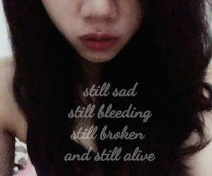 broken, cry, and poem image