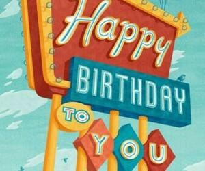 cumpleaños, tarjeta, and felizcumpleaños image