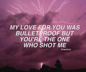 bulletproof, poetic, and quotes image