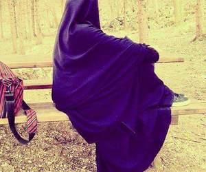 beautiful, jilbab, and hijab image