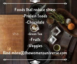 reduce stress, fight stress, and stress reducing foods image