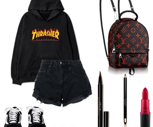 black, Lazy, and Louis Vuitton image