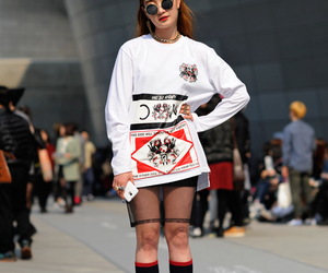 fashion, girl, and korea image