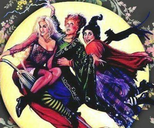 Halloween, hocus pocus, and wallpaper image