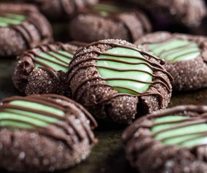 chocolate, sweets, and Cookies image