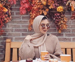 autumn, brown, and coffee image