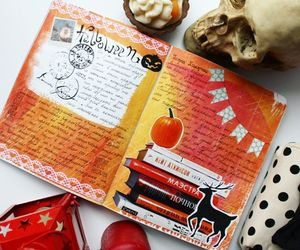 diaries, diary, and helloween image