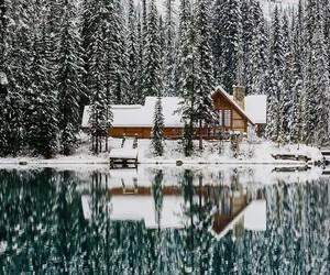 lake and whinter image