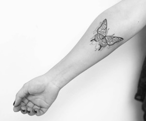 butterfly, tattoo, and insta image
