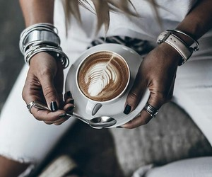 fashion, coffeetime, and inspiration image