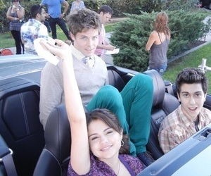 cast, selena gomez, and nat wolff image