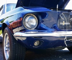 blue, ford, and cobra image