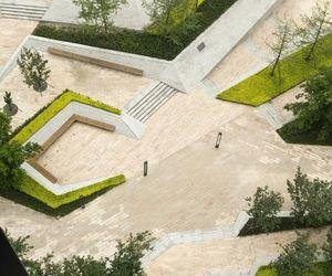 architect, landscape, and model image