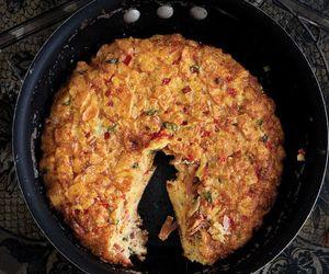 egg, frittata, and potato image