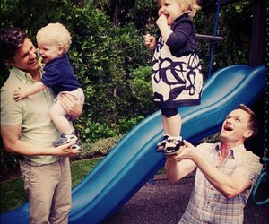 neil patrick harris, family, and baby image
