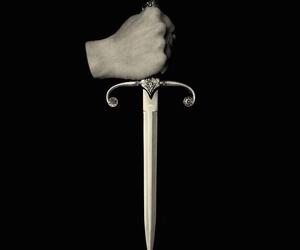 dagger, dark, and pretty image