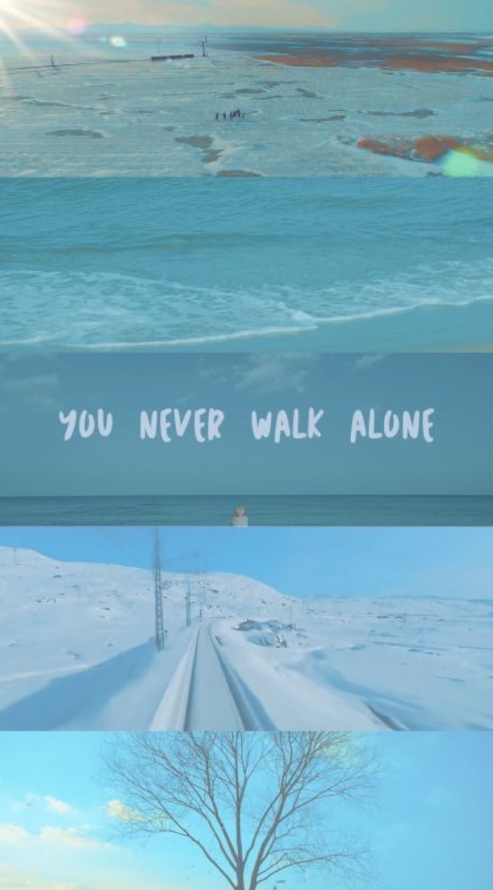 You Never Walk Alone Uploaded By Meli On We Heart It