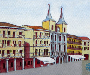 arte, urban, and città image