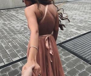 elegance, pink, and Relationship image
