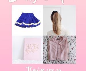 girl, pink, and screenshot image