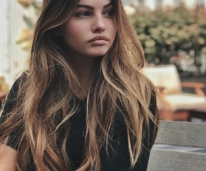 girl, hair, and thylane blondeau image