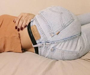 jeans, grunge, and tumblr image