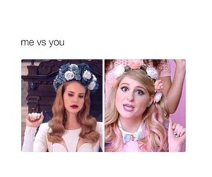 lana del rey, funny, and me image