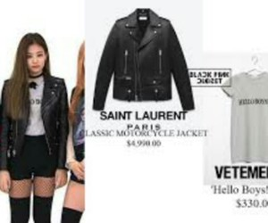 jacket, k-pop, and jennie kim image
