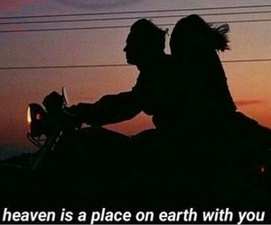 couple, heaven, and quote image