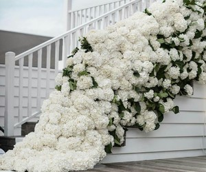 bridal, decor, and flowers image