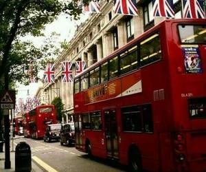 london, england, and bus image