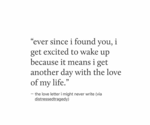 quotes, love, and excited image