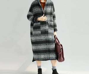 etsy, wool coat, and loose coat image