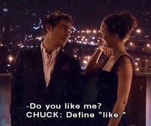 gossip girl, love, and chuck bass image
