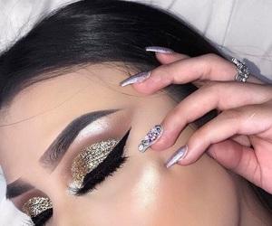 aesthetic, gold, and like4like image