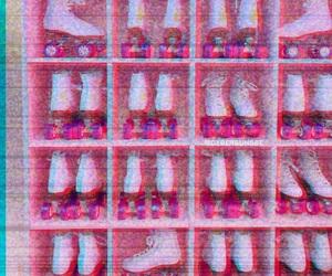 pink, pastel, and retro image