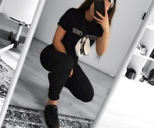 casual, fashion, and girls image